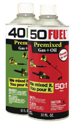 50 Fuel - 2 cycle fuel mix